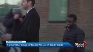 Former Uber driver sentenced for role in deadly crash