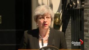 British PM condemns London mosque attack (03:38)