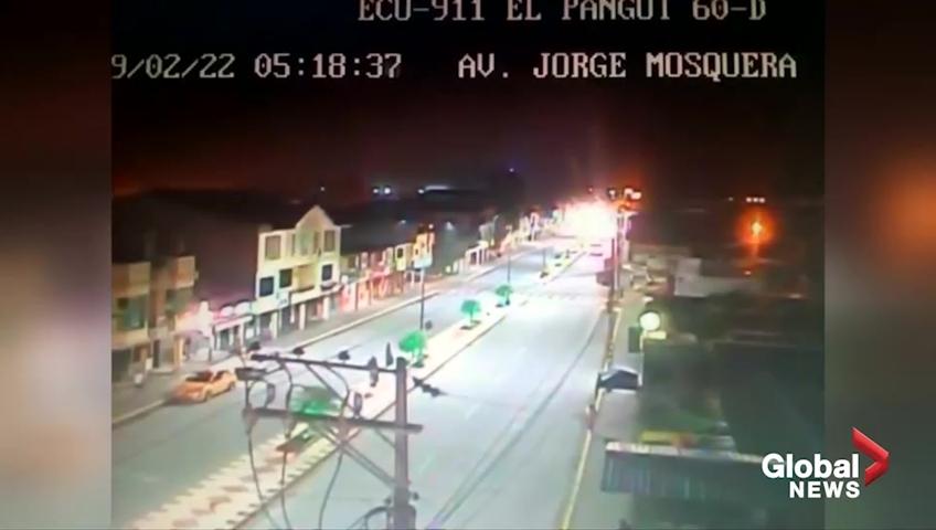 Magnitude 7.5 quake strikes Ecuador-Peru border