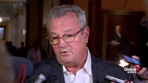 Hillier says defends comments in Queen's Park following suspension