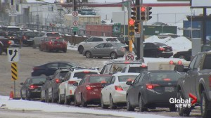 'It was brutal': Commuters gridlocked with rush hour winter storm