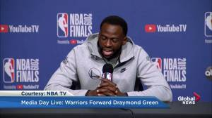 Draymond Green: I'm a better defensive player than Kawhi Leonard