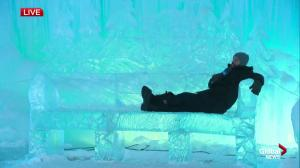 Kent Morrison proclaims himself King of Edmonton's Ice Castles
