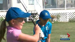 Young children set records at Alberta golf course