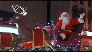 Highlights from the Peterborough Kinsmen Santa Claus Parade