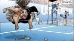 Social media reacts to 'racist' cartoon of Serena Williams