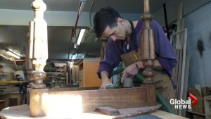 Montreal woodworker transforms old items into treasures