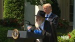 Trump offers prayers to Venezuelans, honours Rabbi injured in synagogue shooting