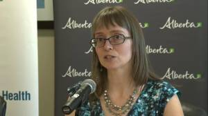 Alberta Health official speaks about chemicals found at former Edmonton wood treatment site