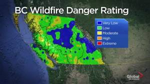 The B.C. Wildfire Service says so far so good on the wildfire front but warns to still be careful.
