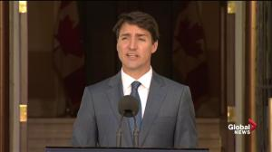 Trudeau says conservatives around world 'playing at politics of fear'