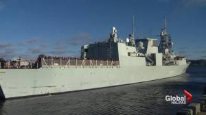 Ottawa looking at foreign design for new warships