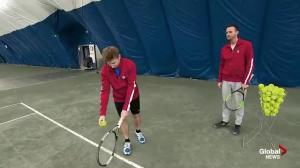 Serving up indoor fun at Atlantic Tennis Centre