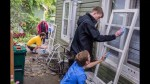 Queen's Engineering students partake in the Fix n Clean programme