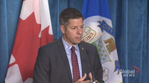 Winnipeg mayor says discussions continue over funds relating to legal pot