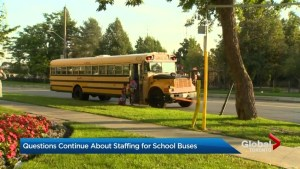 Questions continue about school bus staffing