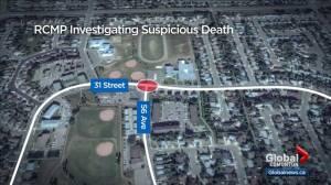 Lloydminster RCMP investigate suspicious death