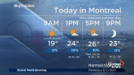 Global News Morning weather forecast: Friday, August 10