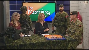 Canadian Armed Forces holding open house & job fair