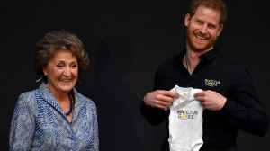 Prince Harry marks one year until Invictus Games 2020, receives baby romper as gift