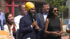 NDP leader Jagmeet Singh on Kinder Morgan pipeline expansion