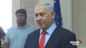 Netanyahu calls for 'peace-loving countries' to stand by U.S. efforts to curb Iranian aggression