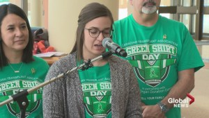 April 7 will be inaugural Green Shirt Day