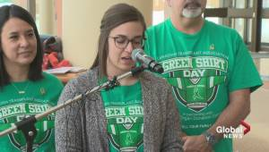 April 7 will be inaugural Green Shirt Day (01:55)