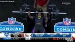 One-handed player wows scouts at NFL combine with incredible bench press performance