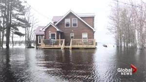 Grand Lake, N.B. residents powerless as they watch flood waters overtake homes and cottages