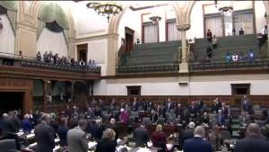 Brussels attack: Queen's Park hold moment of silence