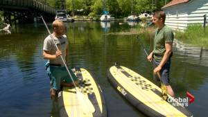 Residents, businesses on Toronto Islands still dealing with record flood levels