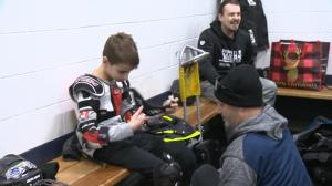 11-year old's passion for sledge hockey started with help from SMD