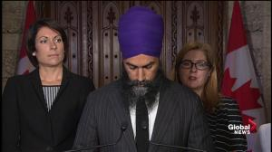 Singh says Liberals have 'betrayed' dairy sector, 'eroded' supply management