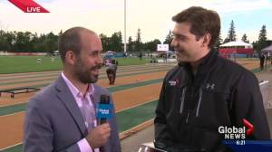 TrackTown Classic underway at Edmonton's Foote Field