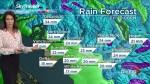 B.C. evening weather forecast: April 18