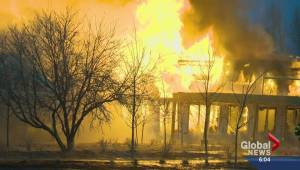 Fire destroys High River seniors lodges previously damaged in the 2013 flood