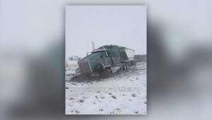 Poor weather causing road closures across Southern Alberta