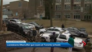 Lockdown at Toronto schools lifted after gun scare