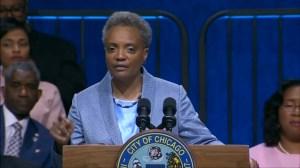 Chicago's first gay, black female mayor sworn in
