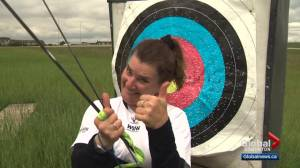 Lucie Filion reignites passion, skill for archery after 3 decades