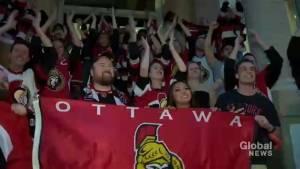 Ottawa Senators fans loud and proud in Toronto bar