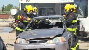 Winnipeg's newest firefighters undergo rigorous training