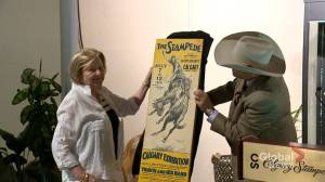 Missing 1930 exhibition poster returned to Calgary Stampede