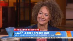 Former NAACP leader addresses race claims on Today Show