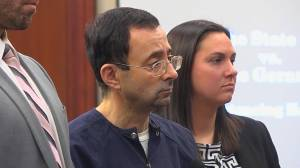 U.S. gymnastics team doctor Larry Nassar sentenced up to 175 years for sexual abuse