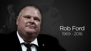 Rob Ford passes away at the age of 46