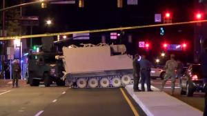 Virginia State Police stop stolen armoured personnel carrier