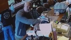 Surveillance video captures alleged poppy donation thief