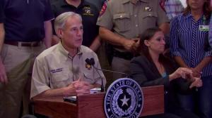 Number one goal is saving lives: Texas Gov. on Harvey recovery